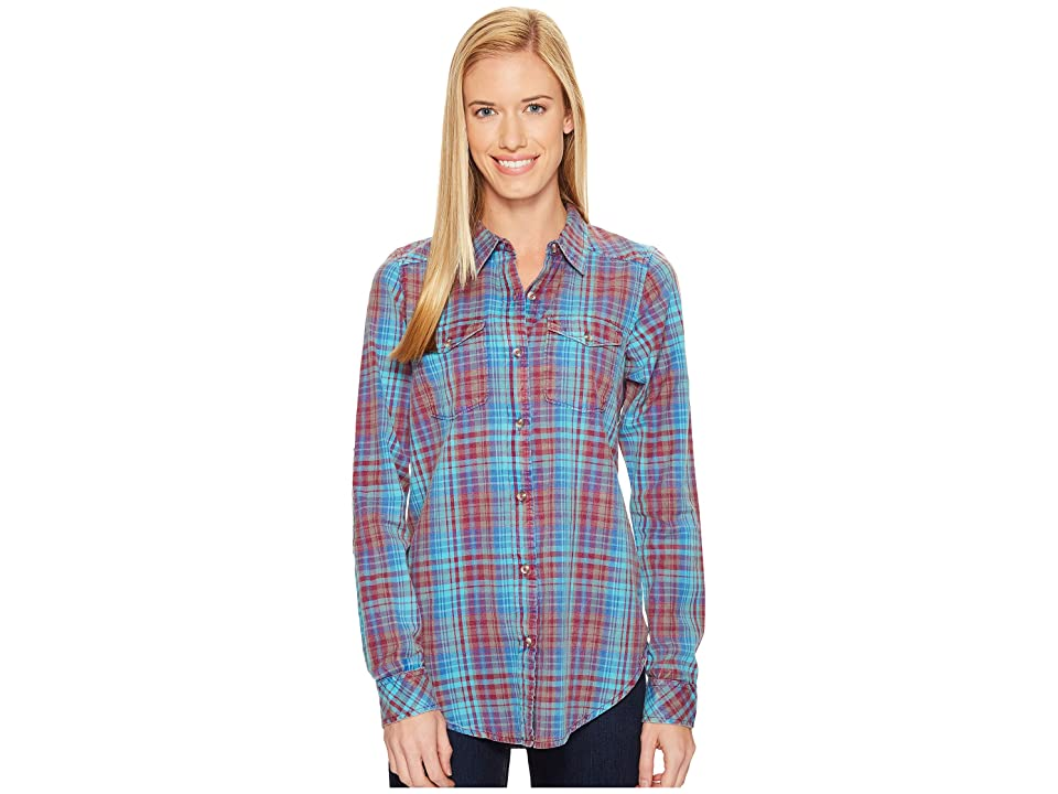 KAVU Billie Jean Shirt (Sea Breeze) Women