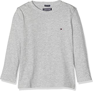 Tommy Hilfiger Boys Basic Cn Knit L/S Camiseta para Niños