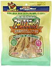 ドギーマン 犬用おやつ 無添加良品アキレススティック 100g
