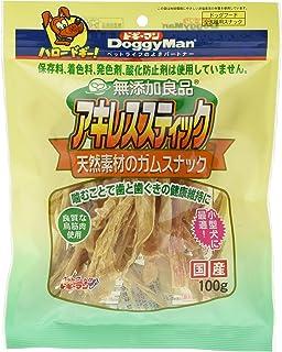 ドギーマン 犬用おやつ 無添加良品アキレススティック チキン 100g
