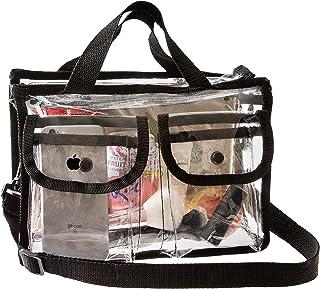 حقائب للحصول على حقيبة مكياج أقل شفافية معتمدة من إدارة أمن المواصلات لمستحضرات التجميل, , شفاف - 757450209513