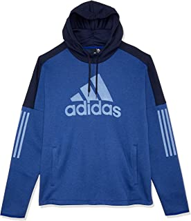 adidas Men's Sports ID Logo PO Fleece Sweatshirt