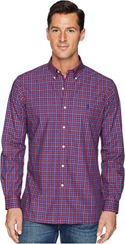 Button Down Poplin Sport Shirt in Classic Fit