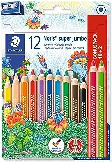 Confezione Neon + colorate, 1 /Confezione di cartone con 5 Matite Colorate Jumbo Grip Neon e confezione di 6 matite colorate Jumbo Grip Confezione 110994/e 110906/ Faber-Castell