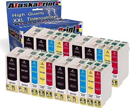 20er Set Druckerpatronen Kompatibel für Epson T1301 - T1304 XL Tintenpatronen für Stylus Workforce WF3520 WF3530 WF3540 3010DW WF7015 WF7515 WF3010 Stylus Office BX525WD BX525W BX925FWD Stylus SX525 SX535 SX620 Epson stylus Office BX535WD BX630FW BX635FWD