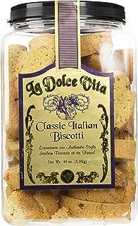 La Dolce Vita Classic Italian Biscotti, 40 oz