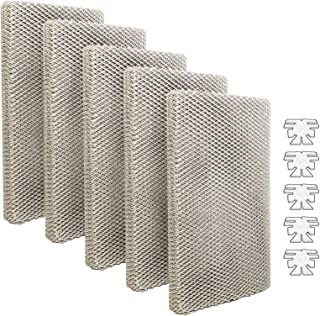 LifeSupplyUSA 5 Pack Replacement Evaporator Pad Filter with Wick Compatible with Skuttle A04-1725-051, 2001, 2101, 2002, 2...