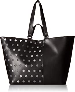 Kendall & Kylie Tote Bag for Women - Black (HBKK-418-0006B-26)