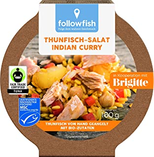 followfish MSC Thunfisch-Salat Indian Curry, 160 g