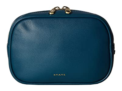 STATE Bags Crosby Fanny Pack (Dark Teal) Handbags
