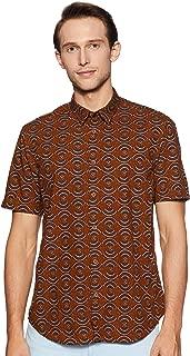 Indian Terrain Men's Printed Slim fit Casual Shirt