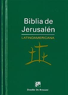 Biblia de Jerusalén Latinoamericana: Edición de Bolsillo (Spanish Edition)