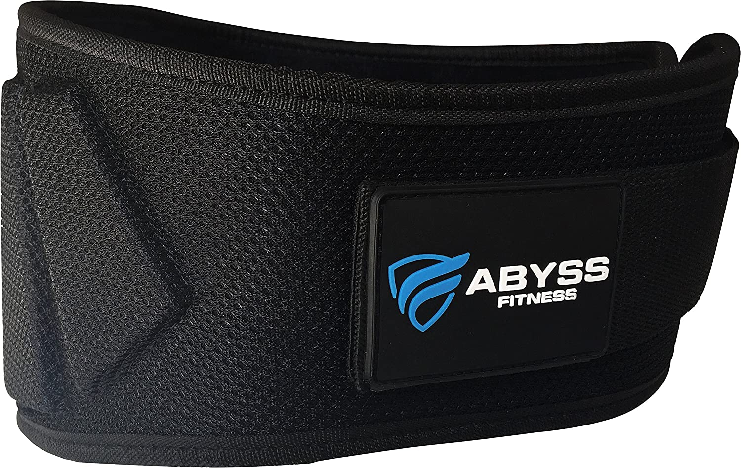 Weightlifting Belt, Olympic Lifting, Crossfit, for Men and Women, 6 Inch, Back Support for Lifting by ABYSS FITNESS