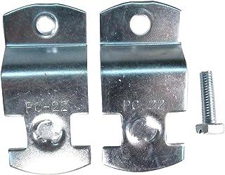 南電機 パイプハンガーサドル PG-22 電気亜鉛メッキ仕上げ (20個/箱)