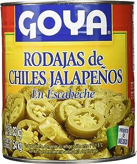 Goya Chiles Jalapeños en Rodajas para Nachos - 3 Paquetes