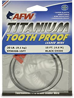 titanium tooth proof leader wire