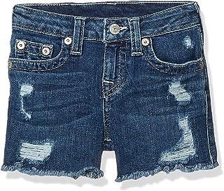 True Religion Girls Fashion Short Denim Shorts