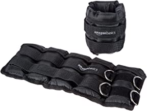 AmazonBasics Adjustable Ankle and Leg Weights