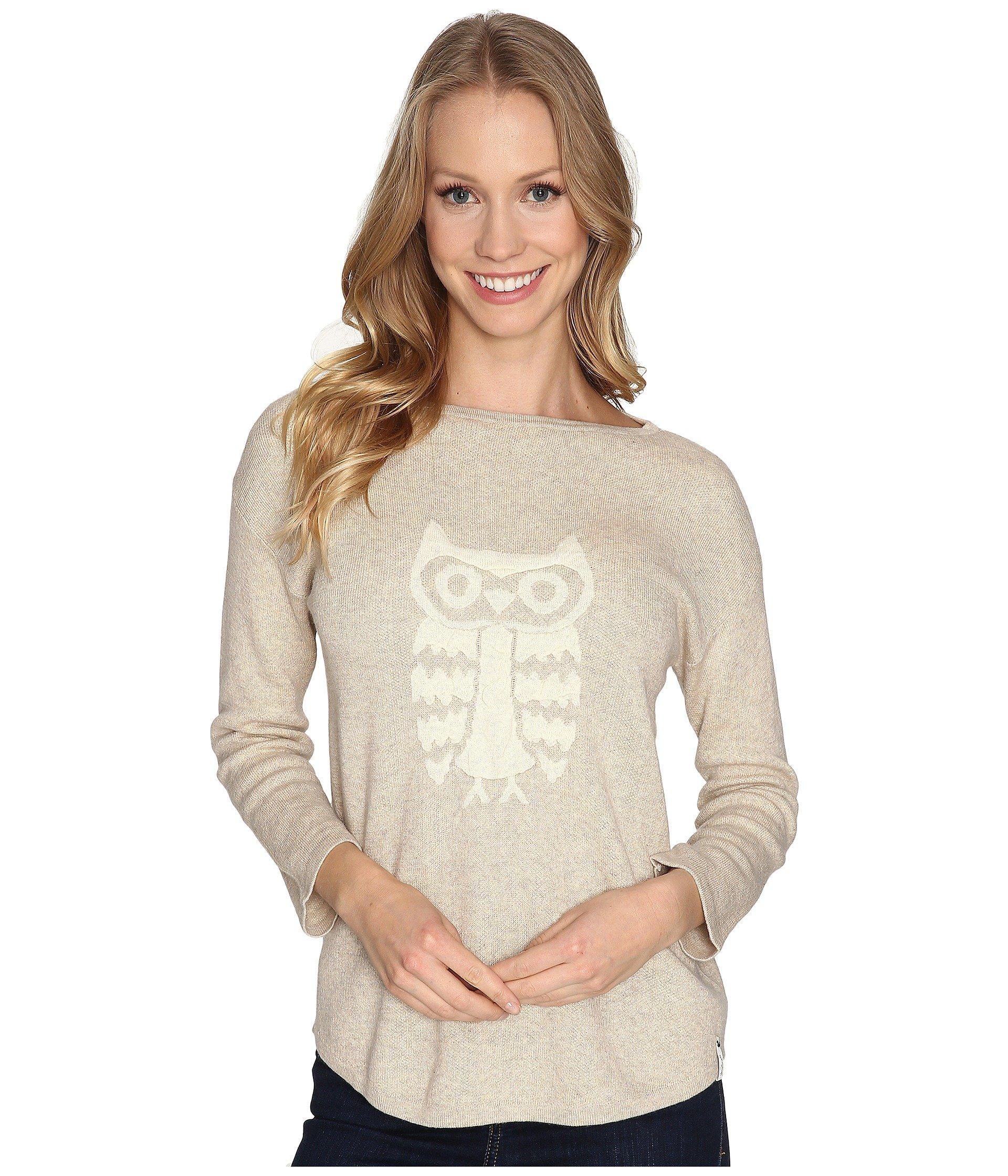Saco para Mujer Woolrich Two Tone Motif Sweater  + Woolrich en VeoyCompro.net