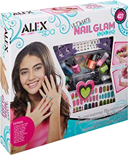 Alex Spa Ultimate Nail Glam Salon Kit Girls Fashion Activity