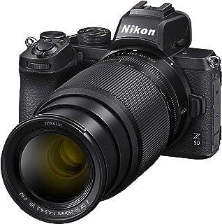 Nikon Z 50 Spiegellose Kamera im DX Format mit 16 50mm 1:3,5 6,3 VR und 50 250mm 1:4,5 6,3 VR (20,9 MP, OLED Sucher mit 2,36 Mill. Bildpunkten, Hybrid AF mit Fokus Assistent, 4K UHD Video)
