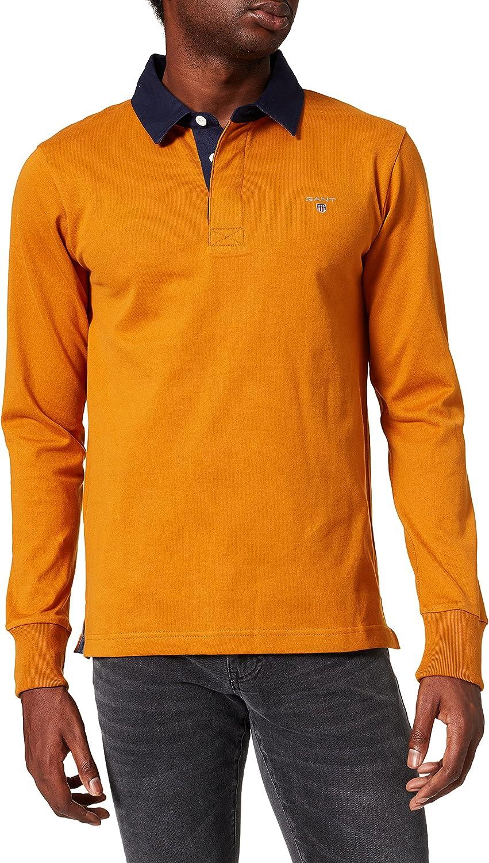 GANT Original Heavy Rugger Camisa de Polo para Hombre