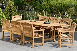 vineyard teak dining table