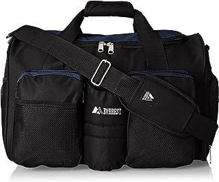 Everest bolsa de gimnasio con bolsillo húmedo, Marino, Una talla