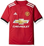 adidas Kinder MUFC H JSY Y Trikot, real red s10/White/Black, 164