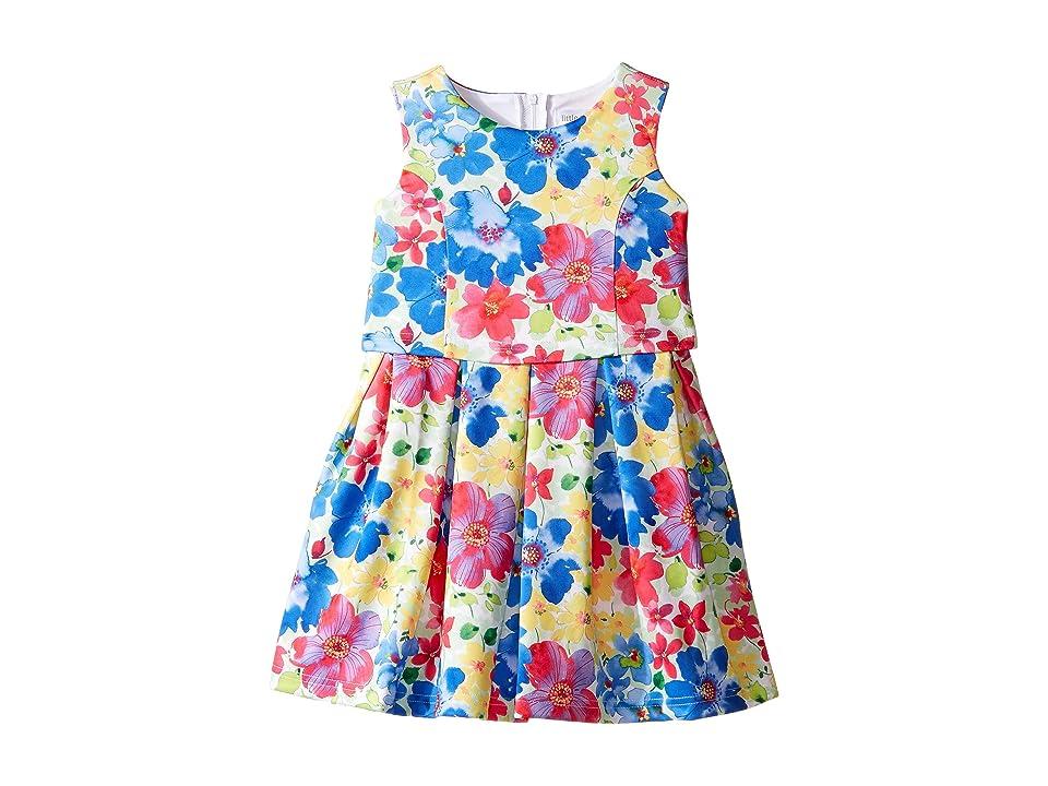 Us Angels Sleeveless Princess Bodice Popover Dress (Little Kids) (Multi) Girl