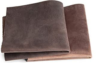 Peau de vache rétro vintage | Marron Foncé | Effet pull-up, cuir graissé, cuir épais, cuir aspect antique | Maroquinerie, ...
