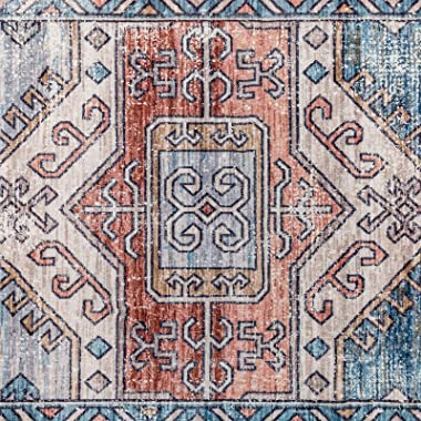 DECOMALL Runner Rugs 2'6x9 ft, Long Hallway Runners, Soft Carpet Runner for Entryway Walkway Foyer Kitchen, Traditional V