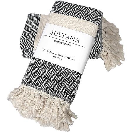 Sultana Luxury Linens Turkish Bath Towel Eco-Friendly Peshtemal 100/% Turkish Cotton
