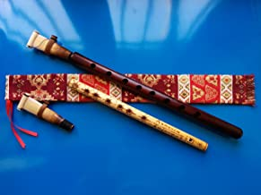 ARMENIAN DUDUK PRO from Apricot Wood, 2 Professional Reeds, National Case, Playing Instruction and Free Gift Flute