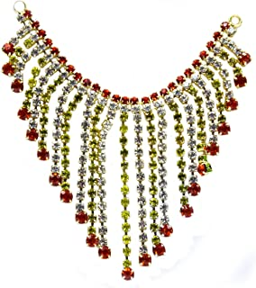 The Holy Mart Deity Diamond Studed Necklace/Belt/kamarband 8 cm   Deities Jewellary  God Jewellary