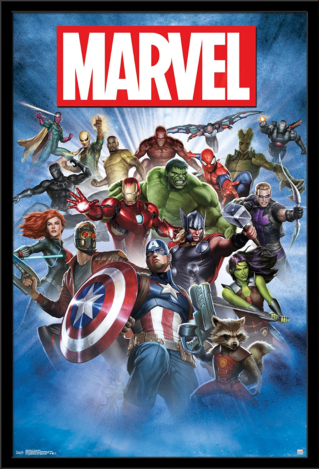 Trends International Wall Poster Marvel Group Shot, 22.375 x 34