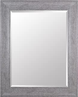 Gallery Solutions Large 29x39 Wall Grey Wash Frame Greywash 29