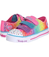 SKECHERS KIDS Twinkle Toes - Shuffles 10612L Lights (Little Kid/Big Kid)