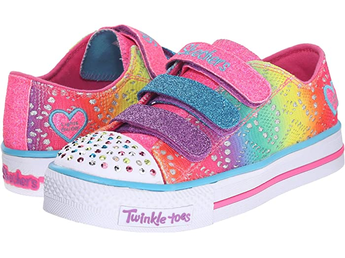columpio zoo ayuda  SKECHERS KIDS Twinkle Toes - Shuffles 10612L Lights (Little Kid/Big Kid) |  6pm