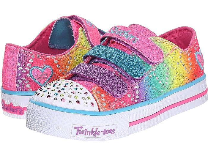 Clínica Autenticación gritar  SKECHERS KIDS Twinkle Toes - Shuffles 10612L Lights (Little Kid/Big Kid) |  6pm