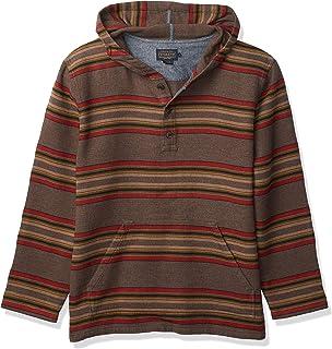 قميص ثقيل بقلنسوة رجالي مكتوب عليه Driftwood من Pendleton