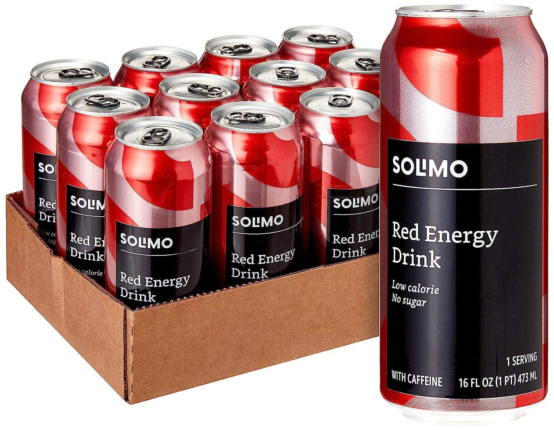 Amazon Superlatite Brand - Solimo Red Energy Oun Fort Worth Mall Drink Free 16 Sugar Fluid