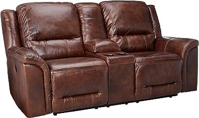 Enjoyable Amazon Com Homelegance Center Hill 83 Bonded Leather Inzonedesignstudio Interior Chair Design Inzonedesignstudiocom