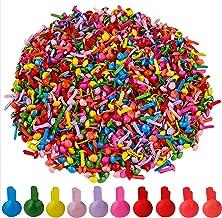 Split Pins Metalen Ronde Brads Mini Papier Bevestigingsmiddelen voor Papier Craft Scrapbooking DIY Craft Multicolor 4.5mm*...