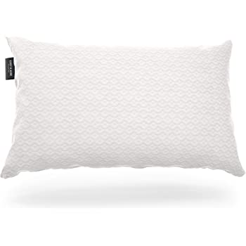 Cosy House Collection Luxury Bamboo Pillow for Sleeping - Premium CertiPUR-US Certified Shredded Memory Foam Pillow with Hypoallergenic Machine Washable Zippered Pillow Case Cover - Adjustable (Queen)