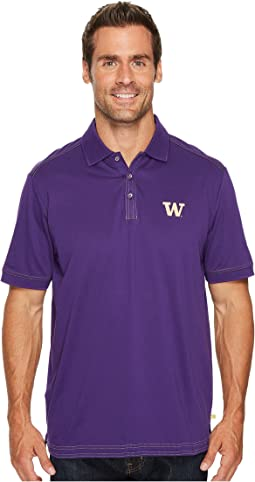Tommy Bahama - Washington Huskies Collegiate Series Clubhouse Alumni Polo