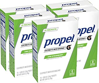 Propel Powder Packets Kiwi Strawberry With Electrolytes, 50 Count