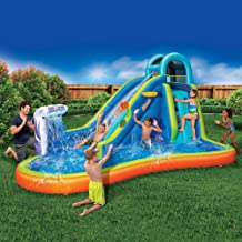 Inflatable Giant Water Slide – Huge Kids Pool (14 Feet Long by 8 Feet High) with..