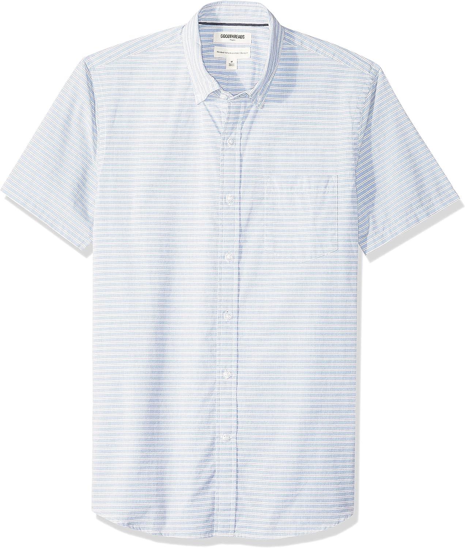 Goodthreads Men's Standard-fit Short-Sleeve Poplin Shirt