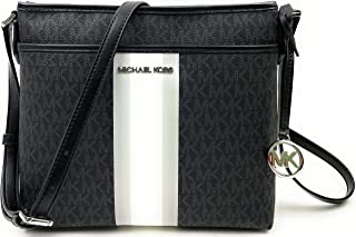 Michael Kors Bedford Small NS Leather Crossbody Bag (Luggage)